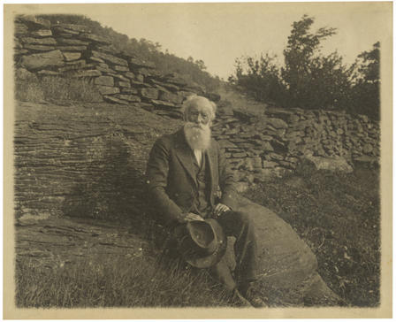"Happy 176th birthday to John Burroughs! He was a noted naturalist, close friend of Theodore Roosevelt, and a key voice in the early 20th-century conservation movement. Roosevelt called John Burroughs ""Oom John,"" using the Dutch term for uncle. They shared a passion for the study of nature and joined in a public campaign against nature writers who took liberties with the facts, the so-called ""nature fakers."" via amnhnyc"