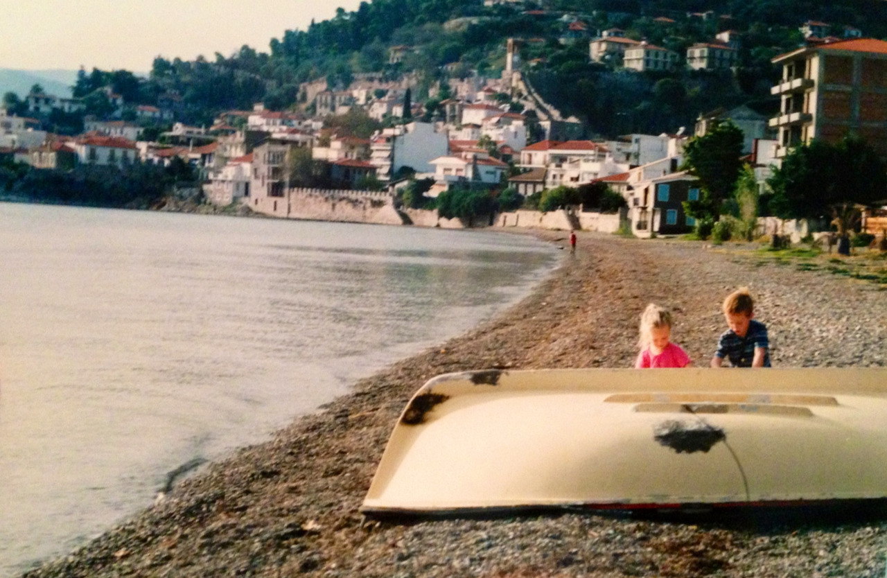 Greece & my little self