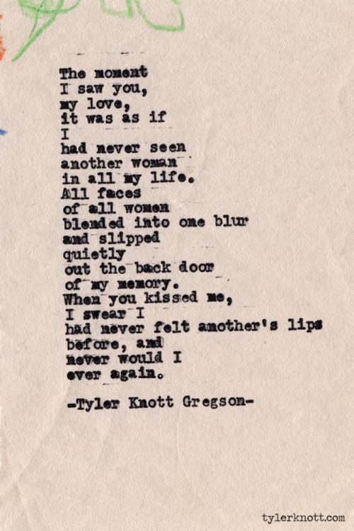 Typewriter Series #388 by Tyler Knott Gregson