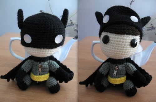 Batman Sackboy by ~anjelicimp