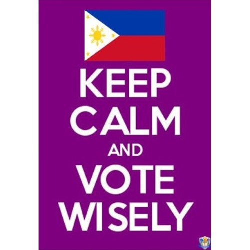 #PILIPINAS #VOTEWISELY A reminder from your FEU-IESC ;)
