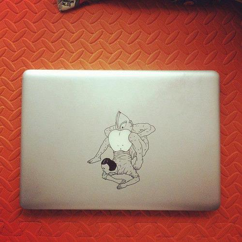 Best MacBook decal ever?