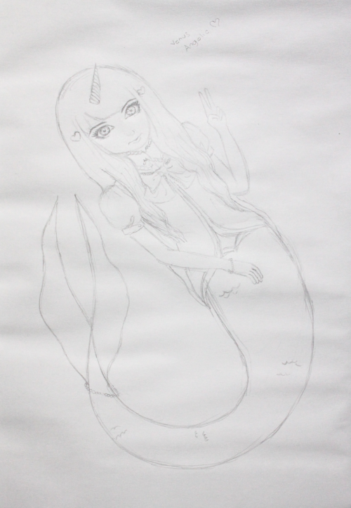 venus is aquarius (right @_@?) hime mermaid venus!  Wow, thank you! <333