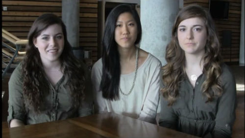 High school students ditch makeup for Operation Beautiful Three high school seniors launched a campaign to change what girls see when they look in the mirror.