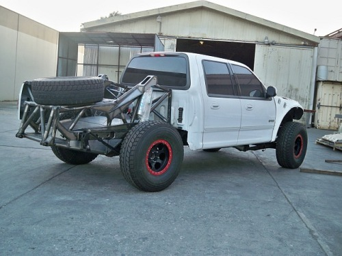 sackofhammers:  (via Fabricated Ford F150)