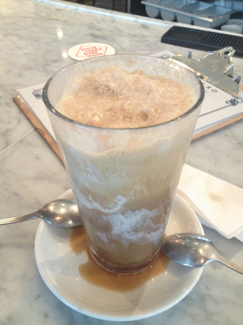 This beer-gelato float, because finals are over.
