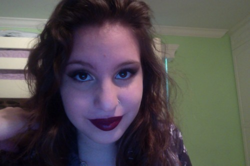 My makeup was nice today c: