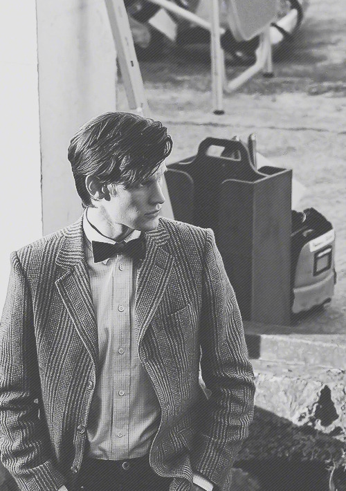 doctorwho:  Matt.  → 18/100 more Doctor Who on-set pictures