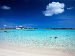 condenasttraveler:  Your Favorite Beaches | Isola Budelli, La Maddalena National Park, Sardinia, Italy  Trip ideas
