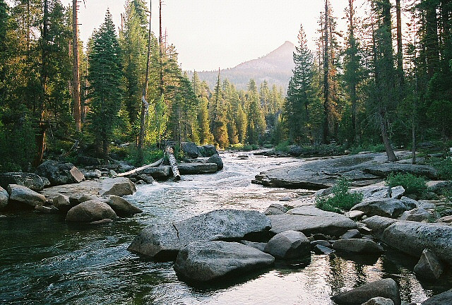 inscendo:  Merced River at Sunrise