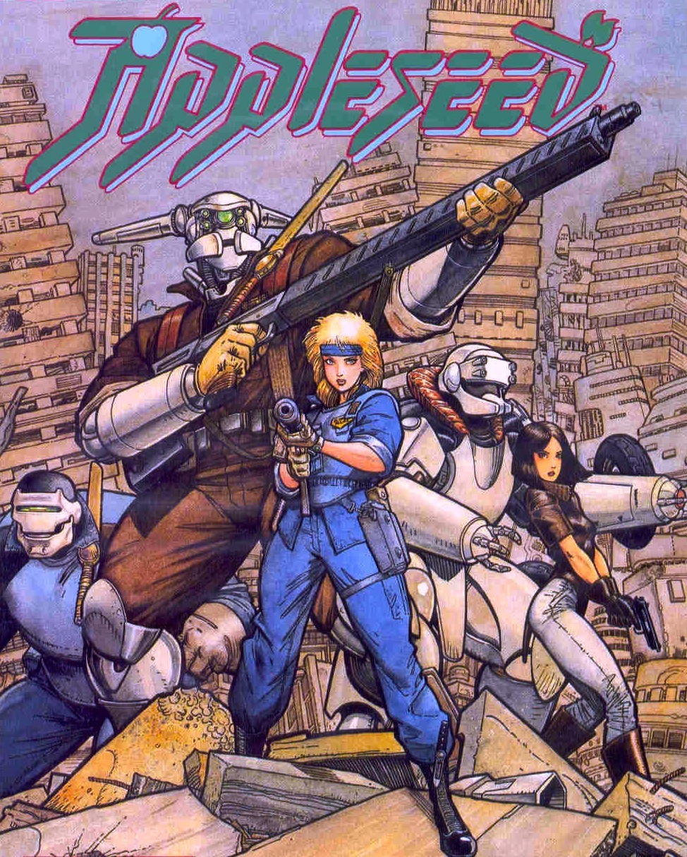 capsep:  Appleseed cover by Art Adams