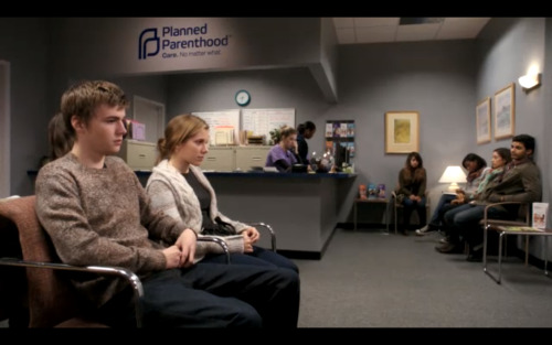 On last night's episode of NBC's Parenthood, Amy found out she was pregnant and went to a Planned Parenthood health center to learn about her options: parenting, adoption, or abortion. Watch the full episode: http://bit.ly/10ftJb0.