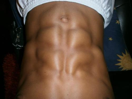 fierrrrrrce:  My friend's abs.  Dear gawd.