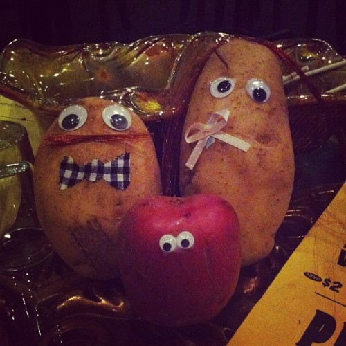 our potato family. @marklucienharris