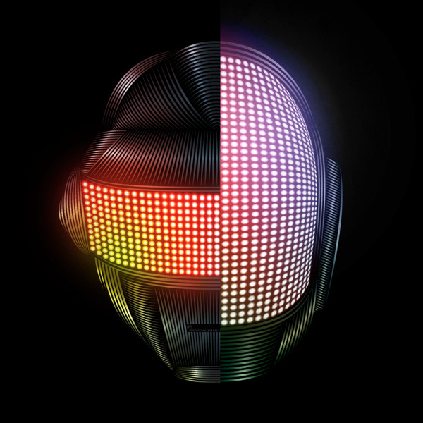 ianbrooks:  Daft Punk by Patrick Seymour We're up all night to get lucky.  Artist: Behance / Website