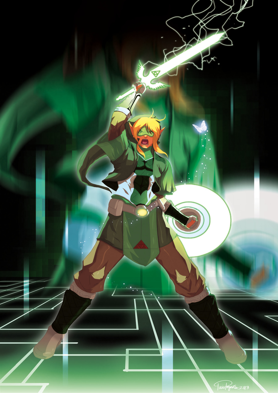 triforceof-power:  Scifi-link by =TovioRogers