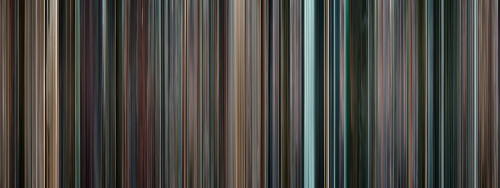 moviebarcode:  Star Trek (2009)  To prepare for Star Trek Into Darkness (2013)