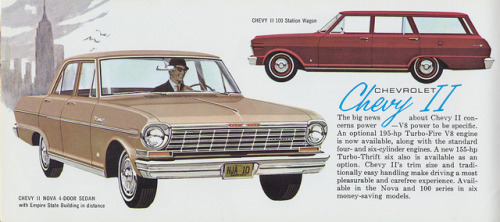 Chevrolet Chevy II by The Pie Shops Collection on Flickr.Chevrolet Chevy II