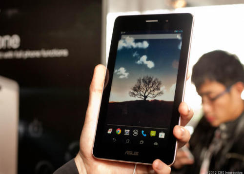 "New Asus FonePad: $249 tablet that makes calls   ""When the phone is also a tablet, you can maximize your entertainment experience. When a tablet is also a phone, you can enjoy full communication,"" says Chairman Shih.   Go hands-on with us"
