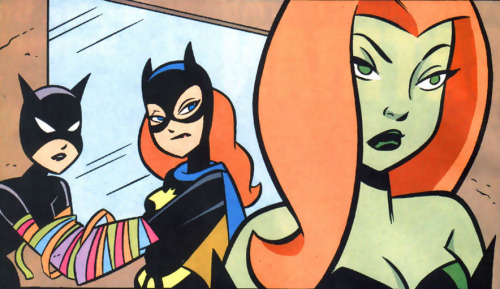 darkwingsnark:   Gotham Girls #3  She waited all her villain career to make that joke. She stayed quiet and waited And you guys didn't appreciate it. JERKS