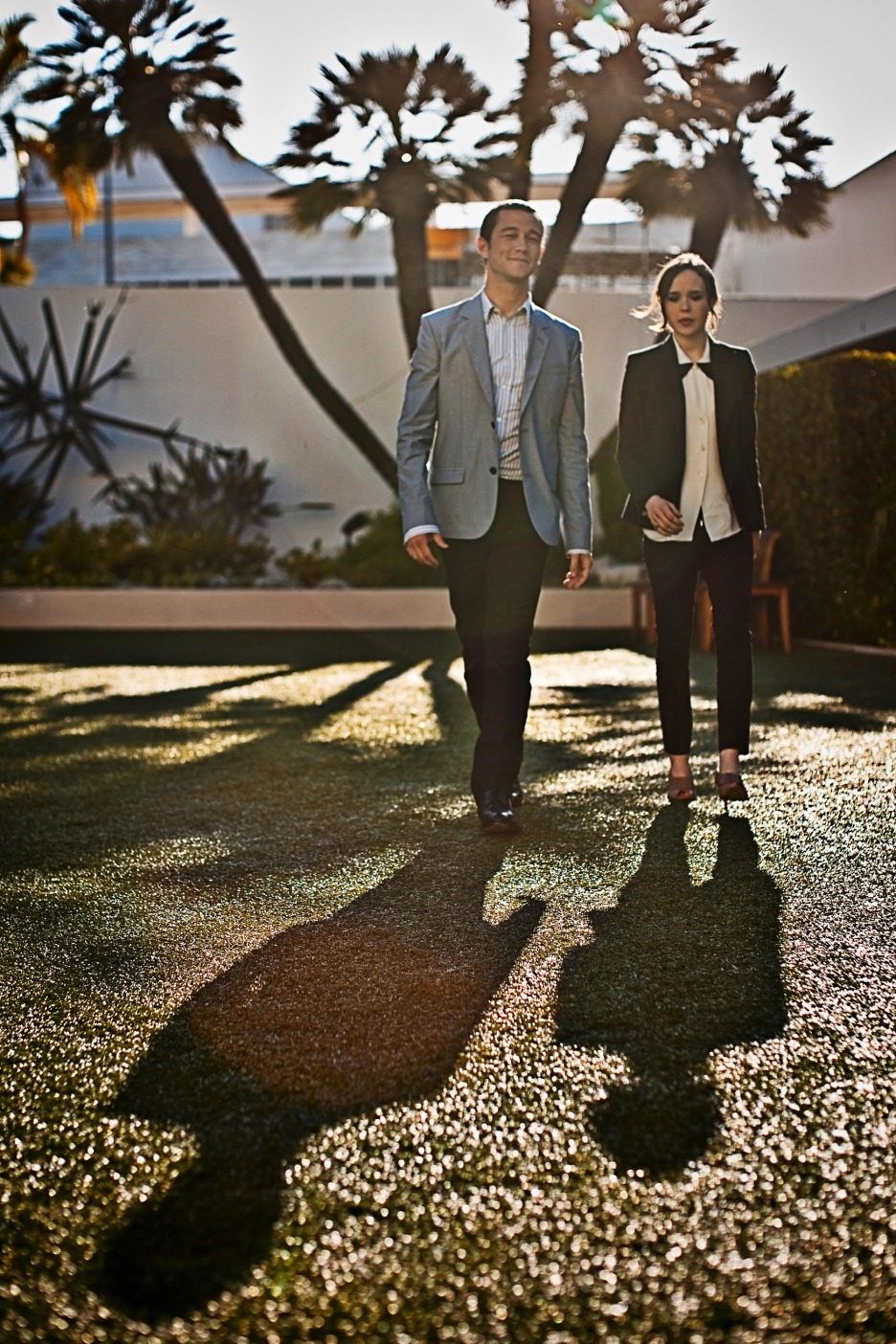 Joseph Gordon Levitt and Ellen Page