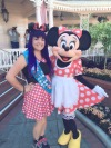Disney day matching minnie is the best @a-lolitas-life