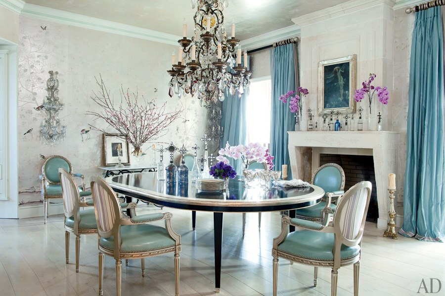 Sharon and Ozzy Osbourne's dining room
