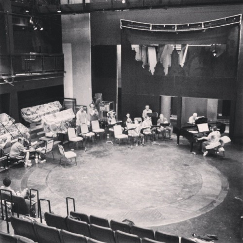 Sitzprobe for My Fair Lady @triadstage #myfairlady  (at Triad Stage)