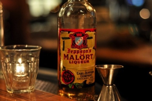 Malört: Chicago's Favorite Bitter Liqueur. We love this stuff.