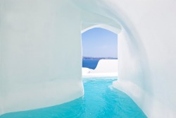 Canaves Oia Hotel ♦ Santorini, Greece | via dustjacketattic