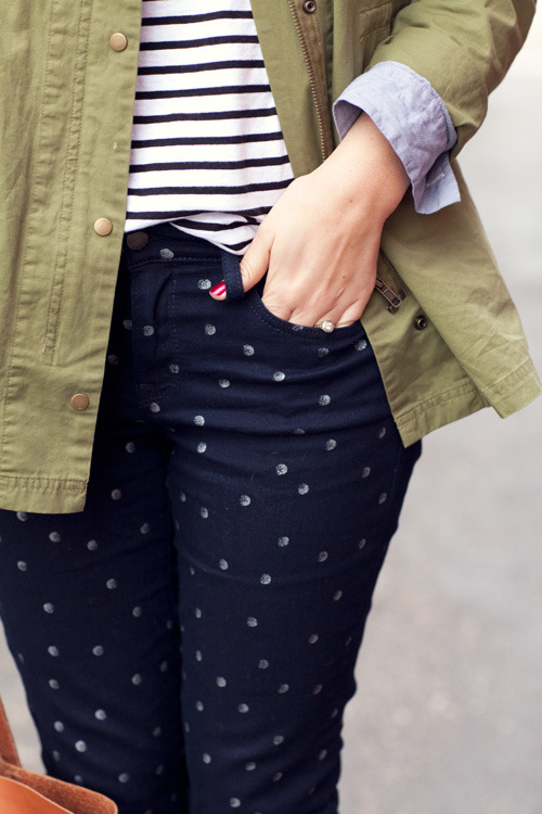 dopeboynextdoor:  Jacket: Simply Audrey Top: Anthropologie Jeans: Gap