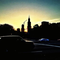 I'm so cliche now but the Sears Tower is better than your whole city #Chicago #YallHatin