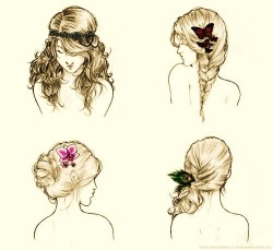 Hair styles | via Tumblr on We Heart It. http://weheartit.com/entry/60399760/via/xTessaKiss