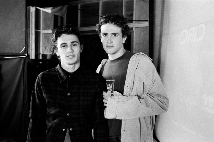 marleyandmoon:  thekissingclub:  james franco and jason segal  my boys!
