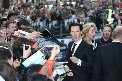 Star Trek Into Darkness London premiere.