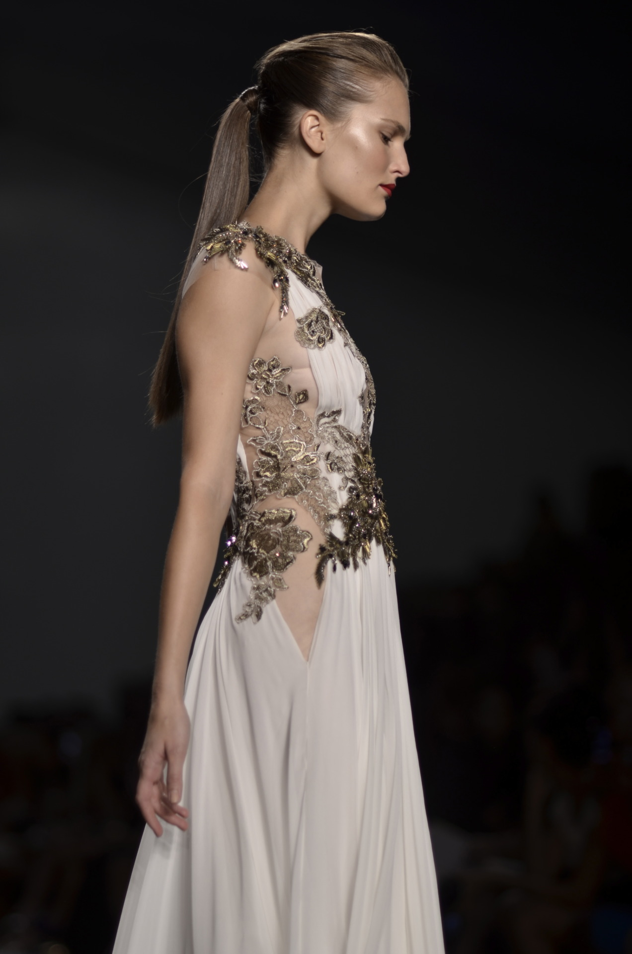 Reem Acra S/S 2013. Lauren Kristin for Fashionisto Diaries.