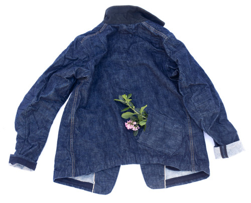 youmightfindyourself:  Dillon Montara Denim Jacket (The Girlfriend Jacket) Named the girlfriend jacket for the back lower pocket for your partner to put their hand on those walks in the wind.  Aw!