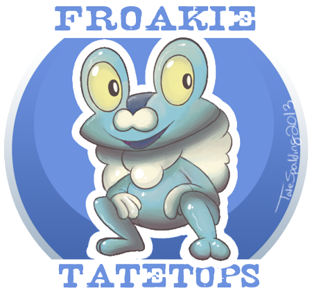 Froakie- of Pokemon X & Y