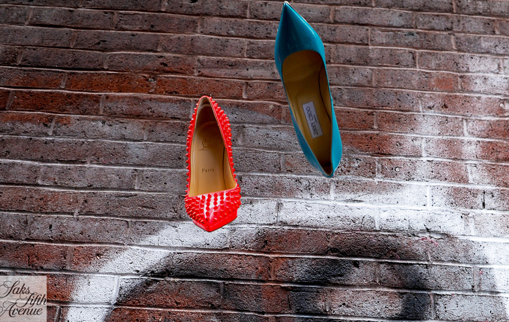 On a color high with Christian Louboutin and Jimmy Choo.Photo by Kristen Somody Whalen