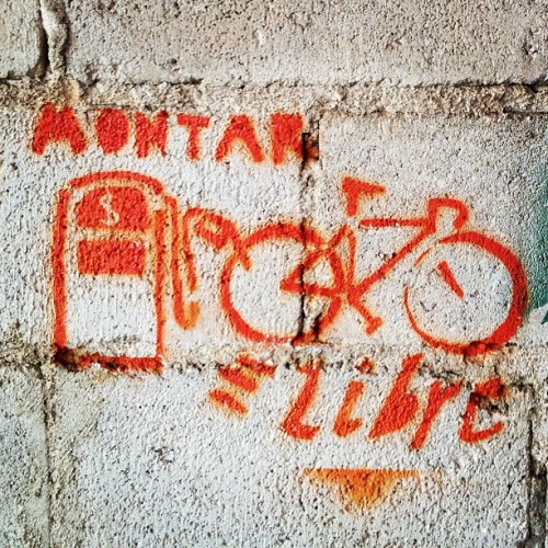 #Bicycle #graffiti at Maya Pedal Association, San Andres Itzapa, #Guatemala.