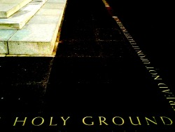 Holy Ground.