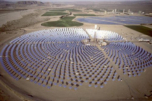 think-progress:  Astonishing: By 2050, solar could meet all the world's electricity needs using <1% of the world's land.  That's a large solar field. This technology is improving pretty rapidly. Hopefully it will be commercially viable across all levels soon. Follow me on Twitter @Jacob_A_Hines for more on sustainability!