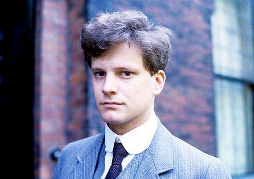 a young Colin Firth (c. 1980's)