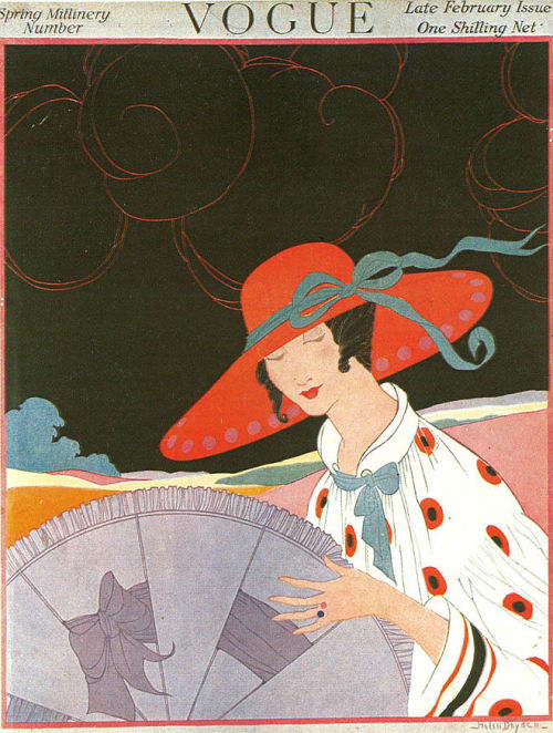 Vogue February 1917 - Helen Dryden