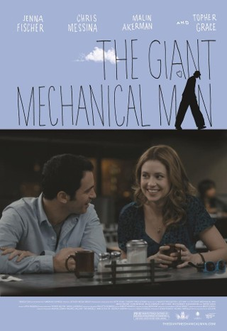 I am watching The Giant Mechanical Man                                      Check-in to               The Giant Mechanical Man on GetGlue.com