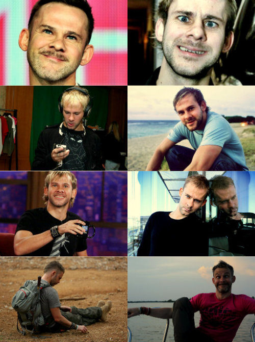 Dominic Monaghan + being a total cutie