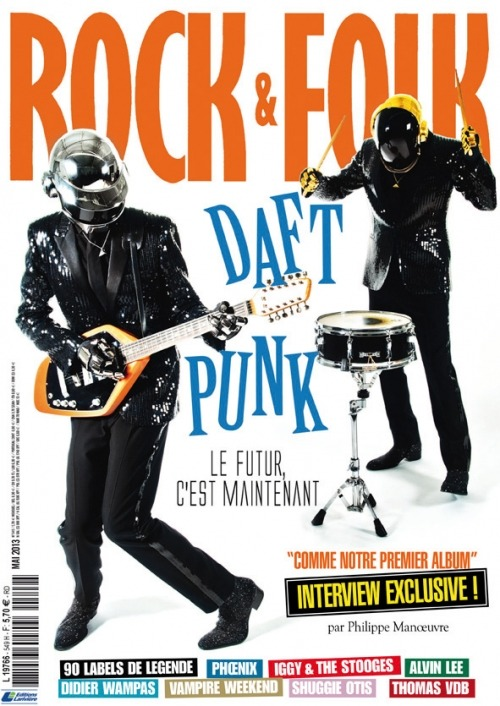 Rock & Folk Exclusive Daft Punk Interview - Part 1 Translated