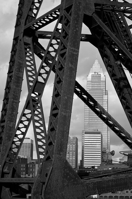 theclevelandkid:  Framed By A Bridge on Flickr.