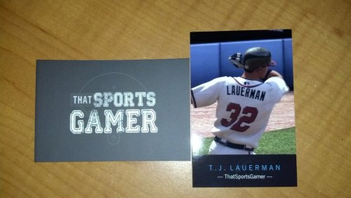 New ThatSportsGamer business cards.