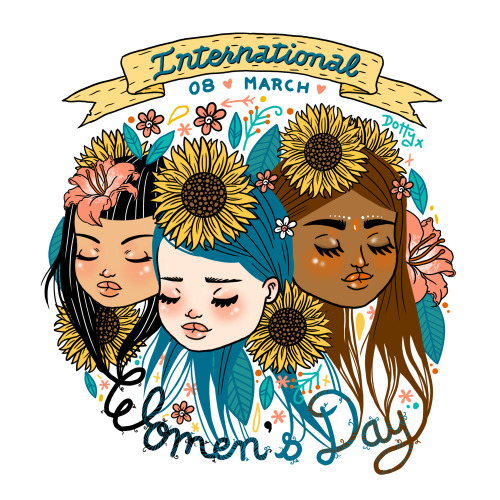 laurencarneyart:  Happy International Women's Day.